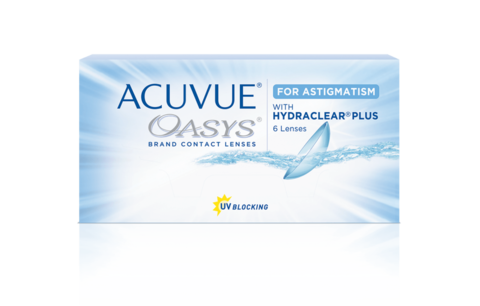 ACUVUE® OASYS® 2-WEEK for ASTIGMATISM