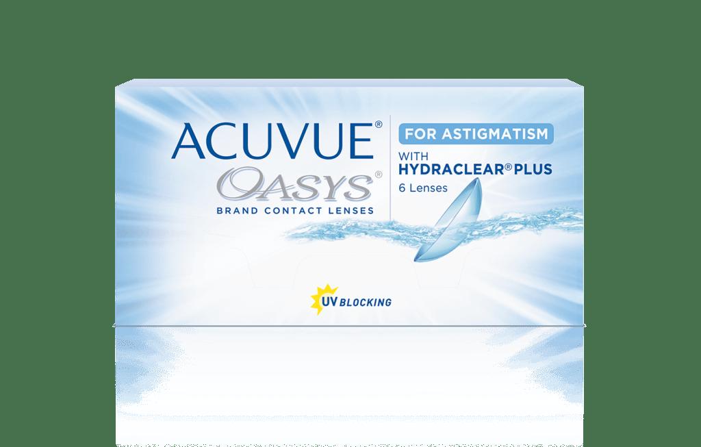 ACUVUE® OASYS® 2-WEEK for ASTIGMATISM